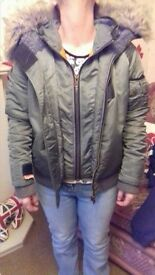 Genuine women's super dry coat