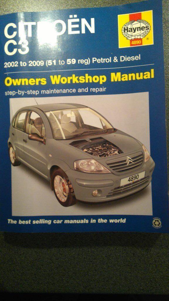 Citroen c3 Haynes woorshop manual
