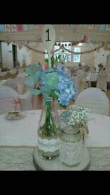 Wedding Centrepiece jars