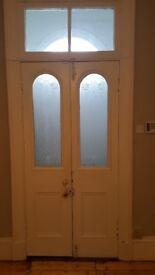Victorian Original Internal Double Doors