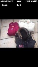 Girls coats jackets