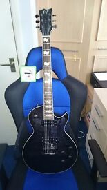 ESP Eclipse guitar and hardcase