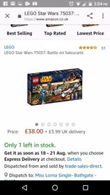 Lego Star Wars brand new