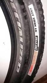 Specialized Fast Trak LK mountain bike tyres