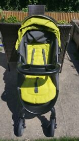 Graco fast action pram 2.0