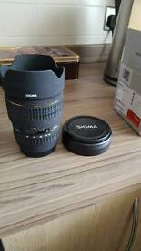 Sigma 15 -30 Canon fit wide angled lense