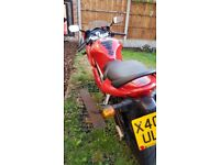 Nice example sv650 s full fairing model recent chain and sprockets. Reliable nice looking bike