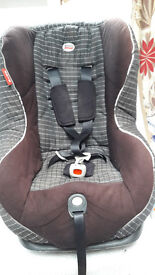 Britax Asis, car seat. Suitable from 4mts to 4yrs . 3 recline positions .