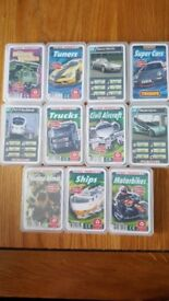 11 Packets of Ace Trumps