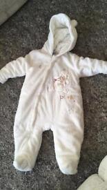 3-6month baby onesie/snowsuit