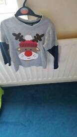 3-4yrs Christmas t shirt