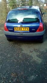 Renault cleo , only 2 owners. Good body , 49000 miles. 300 Ovno.