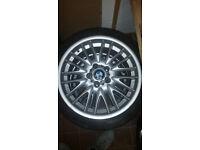 BMW 18 inch alloy wheels genuine