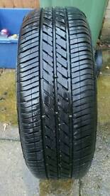Goodyear Eagle Touring tyre and wheel