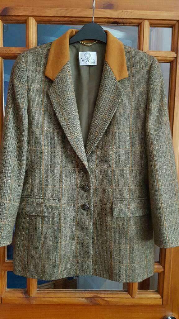 Womens designer Viyella Jacket/Coat