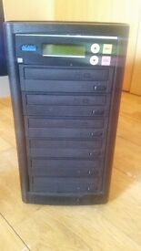 Accard 5 stack CD, DVD duplicator great condition