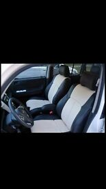 MINICAB/TAXI CAR LEATHER SEAT COVERS VOLKSWAGEN VW PASSAT TOYOTA VERSO AURIS TOYOTA PRIUS PLUS