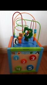 TODDLER BABY ACTIVITY CUBE