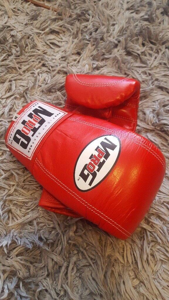 MTG Pro Muay Thai boxing boxing bag gloves