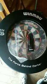 Winmau Dartboard and surround