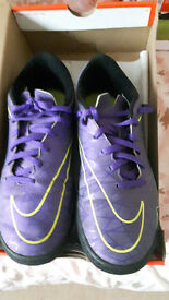 Nike Hypervenom Mercurial Astro Turf Trainers size 8(2 pairs)