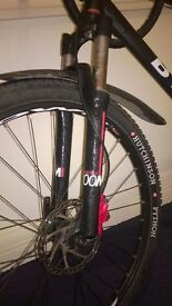 Rockrider 5.20 Mountain bike XL Disc Brake Front & Rear, Front suspension