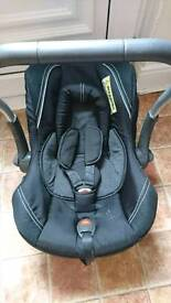 REDUCED Silver cross car seat
