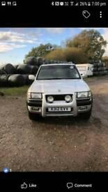 Vauxhall frontera diesel
