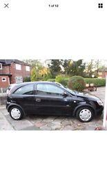 *** Black 2006 Vauxhall Corsa with 12 Months MOT ***