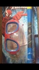 Spider-Man snorkel & Mask set