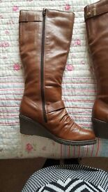 Ladies Brown Boots