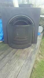Coal iron fire insert