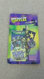 Teenage mutant ninja turtles stationary set