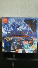 Cut and Run Casino board game