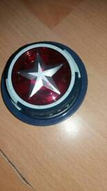 Marvel Captain America chest light (can attach to top) with lights & sounds