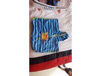 Child's swim towel, poncho 3-6 years