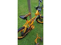 """Boys 14"""" bike, with stabilisers. Excellent condition"""
