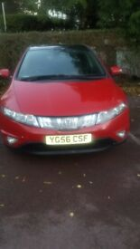 FOR SALE IS HONDA CIVIC AUTOMATIC RED 1