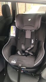 Joie 360 spin car seat group 0+/1 with isofix