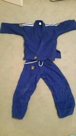 Judo kids blue suit