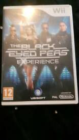 The black eyed peas wii game