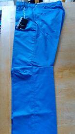 Nike golf trousers BNWT Dri-Fit Blue
