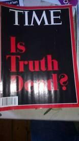 Time, scientific American magazines