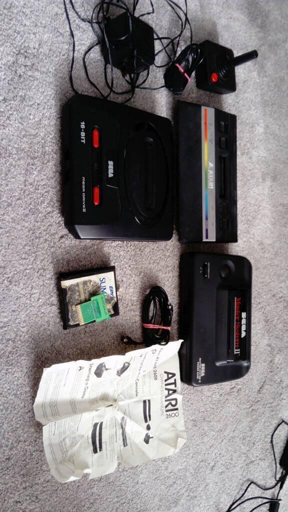 Retro console spares and repairs atari 2600 Sega master system 2 Sega mega  drive 2 | in New Rossington, South Yorkshire | Gumtree