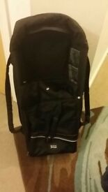 Double britax pushchair
