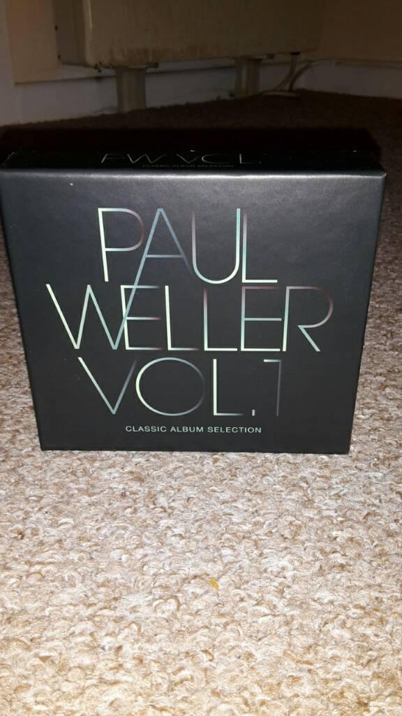 Paul Weller Classic Albums Box Set