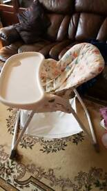 Baby high chair joie