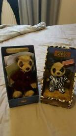 Meerkat collectables x2