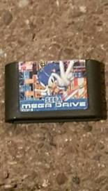 Sonic 3 mega drive game cartridge only