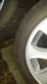 BMW 1 series winter alloys and tyres
